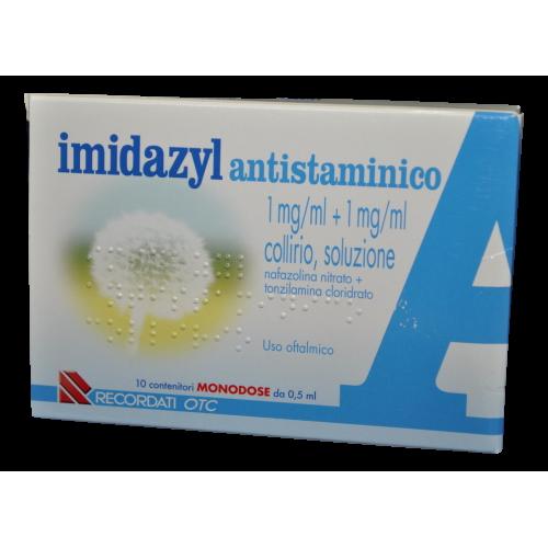 IMIDAZYL ANTISTAMINICO COLLIRIO 10 FLACONCINI 0,5ML
