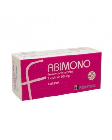 ABIMONO 1 OVULO VAGINALI 600MG
