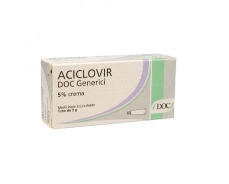 ACICLOVIR DOC CREMA 3G 5%