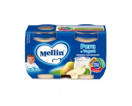 MELLIN MERENDA YOGURT E PERA 2X120G
