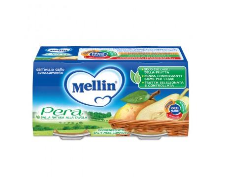 MELLIN OMOGENEIZZATO PERA 2X100G