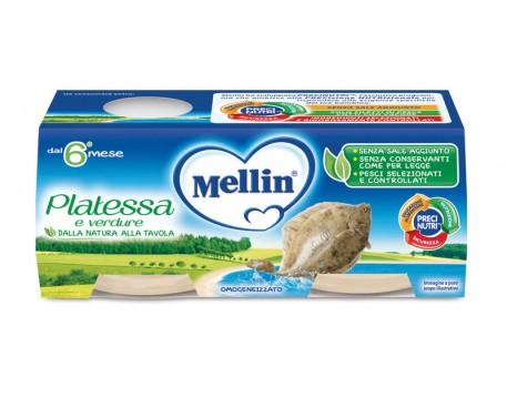 MELLIN OMOGENEIZZATO PLATESSA 2X80G