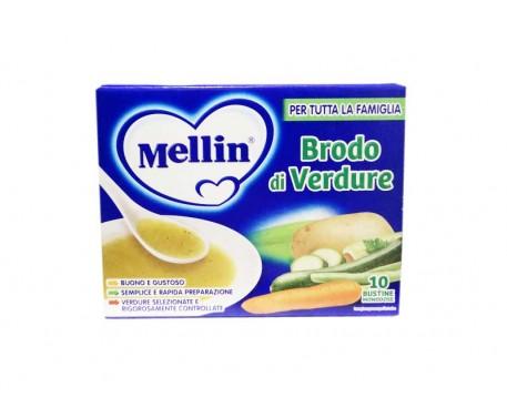 MELLIN BRODO VERDURE 10 BUSTINE 8G