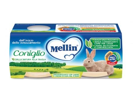 MELLIN OMOGENEIZZATO CONIGLIO 2X80G
