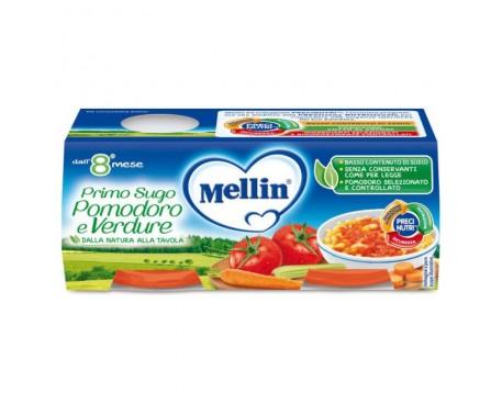 MELLIN PRIMO SUGO POMODORO E VERDURE 2X80G