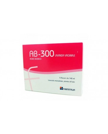 AB 300 LAVANDA VAGINALI 5 FLACONI 140ML