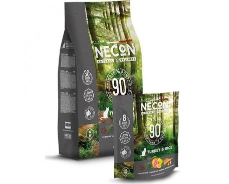 NECON NATURAL WELLNESS ADULT TURKEY&RICE 400G