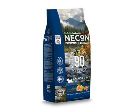 NECON NATURAL WELLNESS CANE MINI SALMONE&RICE 2KG