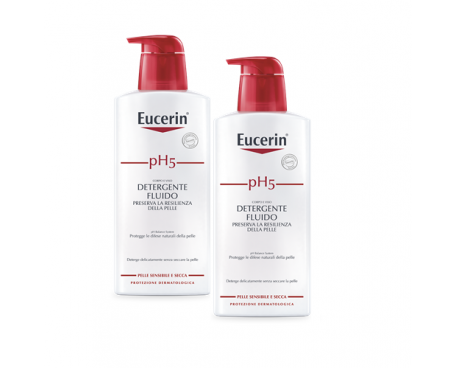 EUCERIN PH5 DETERGENTE FLUIDO 400+400ML