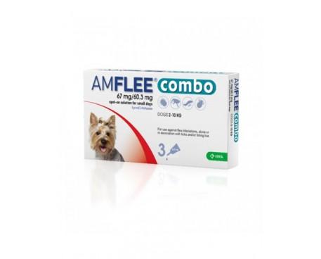 AMFLEE COMBO 3 PIPETTE 67MG+60,3MG