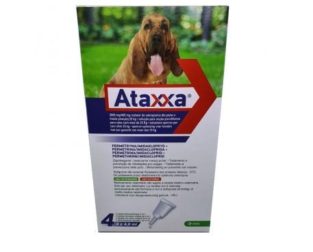 ATAXXA SPOT ON 4 PIPETTE 4ML 25-40KG