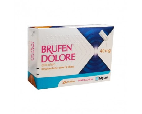 BRUFEN DOLORE 24 BUSTINE 40MG