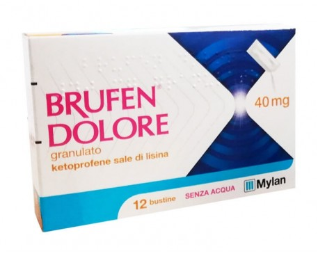BRUFEN DOLORE 12 BUSTINE 40MG