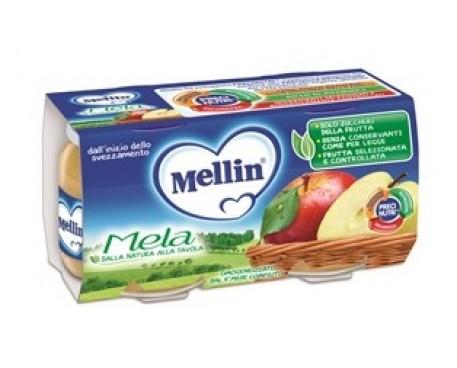 MELLIN OMOGENIZZATO MELA 2X100G