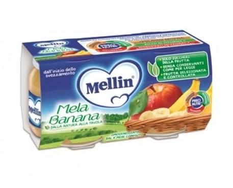 MELLIN OMOGENEIZZATO MELA E BANANA 2X100G