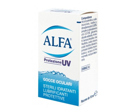 ALFA PROTEZIONE UV GTT OCUL 10