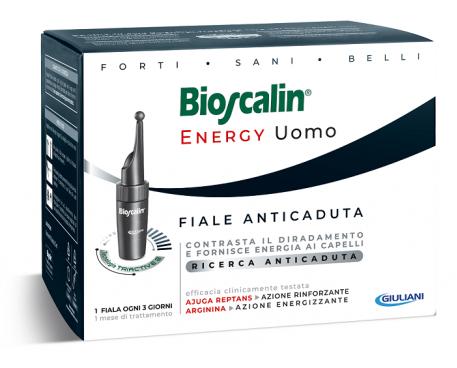 BIOSCALIN ENERGY 10 FIALE ANTICADUTA UOMO