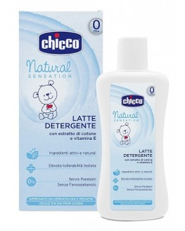 CHICCO COSMESI NATURAL SENSATION LATTE DETERGENTE 200ML