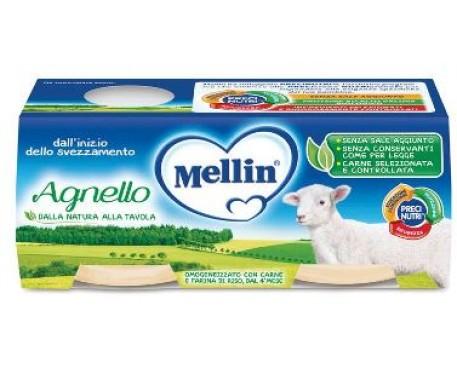 MELLIN OMOGENEIZZATO AGNELLO 2X80G