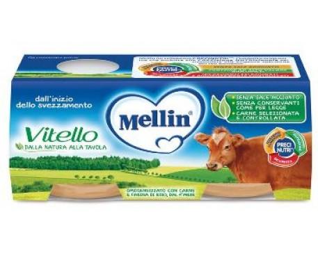 MELLIN OMOGENEIZZATO VITELLO 2X80G