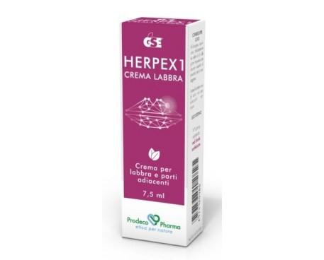 GSE HERPEX 1CREMALABBRA7,5ML