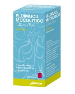 FLUIMUCIL MUCOLITICO SCIROPPO 100MG/5ML