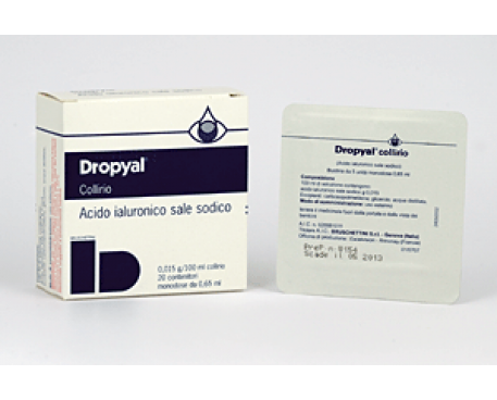 DROPYAL COLLIRIO 20 MONODOSE 0,65ML