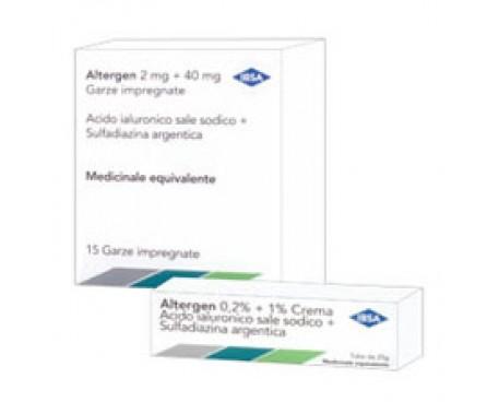 ALTERGEN*CREMA 25G 0,2%+1%