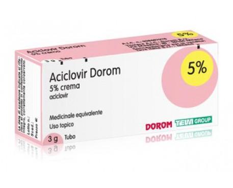 ACICLOVIR DRM CREMA 5% 3GR